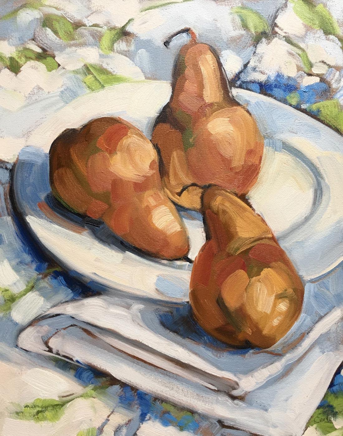 pears for breakfast